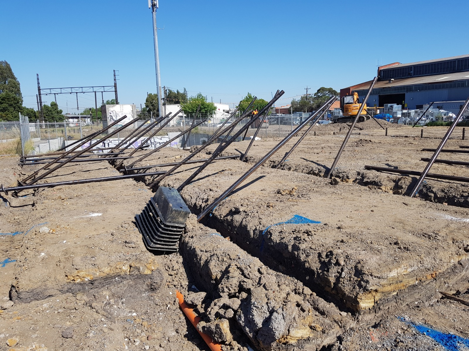 Pile Drive Screw Piles 5